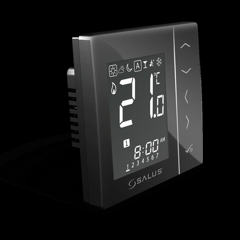 SALUS VS10BRF Bezdrôtový podomietkový izbový termostat 4v1