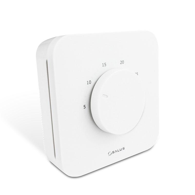 SALUS HTR230 je izbový elektronický termostat, ktorý ponúka rozhodujúcu výhodu oproti klasickým mechanickým produktom. Termostat je ľahko ovládateľný pomocou podsvieteného regulačného kruhového ovládača a ponúka jedinečný ovládací komfort pre všetky typy aplikácií vďaka použitiu veľmi kvalitnej elektroniky v zariadení.