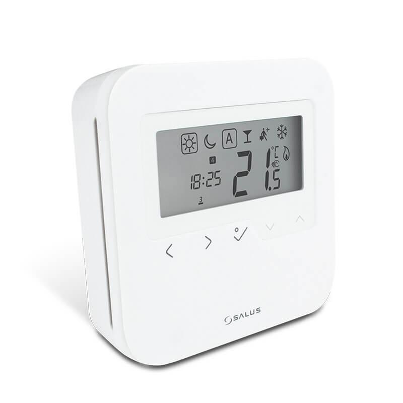 Digitálny programovateľný termostat SALUS HRTP 230. SALUS HTRP230. Digitálny termostat na kotol. Termostat pre pdlahové kúrenie. Izbový termostat digitálny.