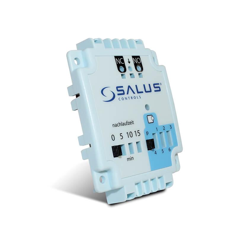 Modul ovládania kotla a čerpadla SALUS PL07 je ideálnym rozšírenímkcentrálnej svorknovnici SALUSKL06. Vďaka nemu sa dá individuálnekontrolovať chod kotla a čerpadla. Modul SALUS PL07 bol navrhnutýšpeciálne pre plošné vykurovacie systémy.
