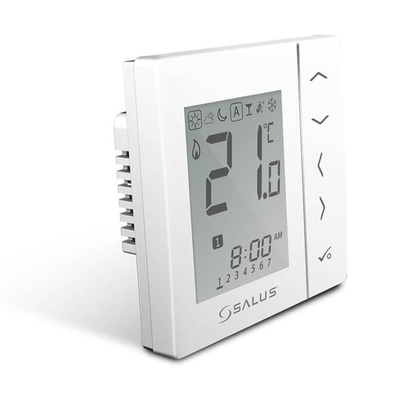 SALUS VS10WRF Bezdrôtový podomietkový izbový termostat