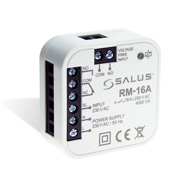 Modul pomocného relé SALUS RM-16A