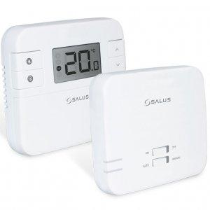 SALUS RT310RF je bezdrôtový denný termostat, jednoduché ovládanie, podsvietený displej
