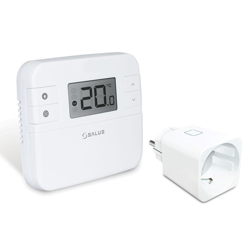 SALUSRT310SPE Denný bezdrôtovýtermostat SALUS RT310SPE je priestorovýdennýtermostat s podsvieteným displejom. Slúži na reguláciu požadovanej teploty v miestnosti.