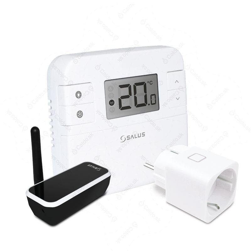 Nový izbový internetový termostat SALUS RT310iSPE s bezdrôtovou bezpečnostnou zásuvkou je dokonalým riešením pre presné a efektívne ovládanie elektrických ohrievačov, kedykoľvek a odkiaľkoľvek cez internetprostredníctvom počítača alebo smartphonu...